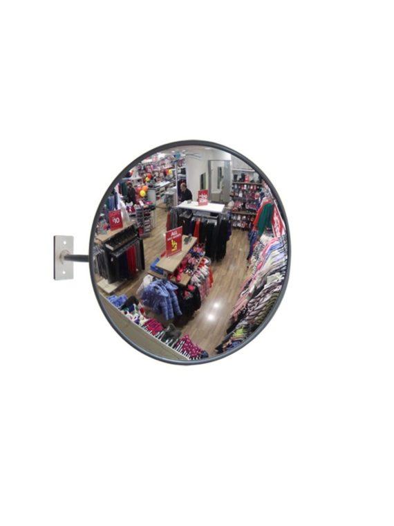 Зеркало 400 мм для помещений круглое с гибким кронштейном, картинки, фото, купить, цена, Краснодар, Безопасность дорог