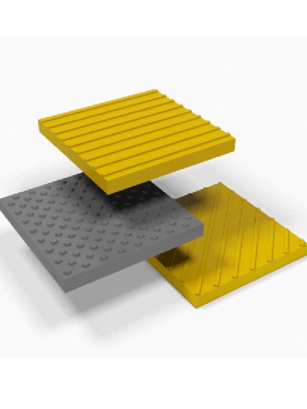 Тактильная плитка бетонная.